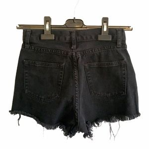 JOHN GALT High Waisted Denim Short Black 24